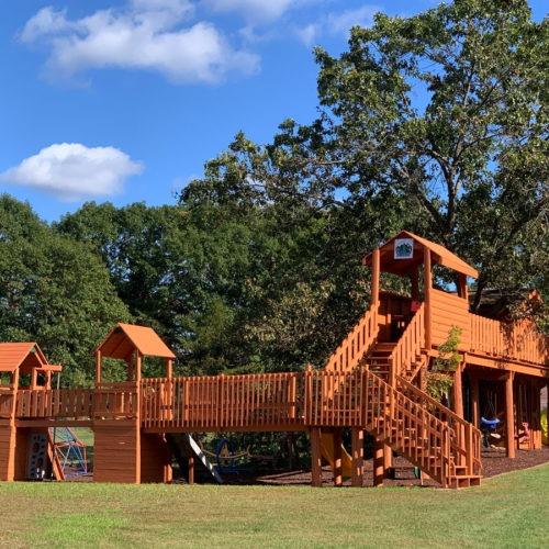 Playground at the resort.