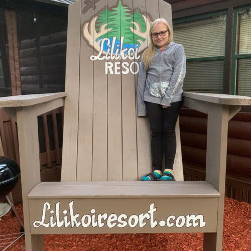 Lilikoi Resort Chair.