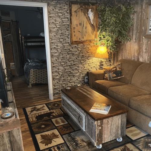Inside Lilikoi Lake House.